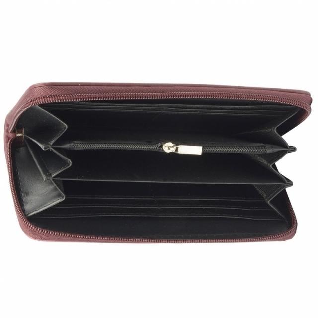 David Jones 053-510 P Bordeaux женский кошелек
