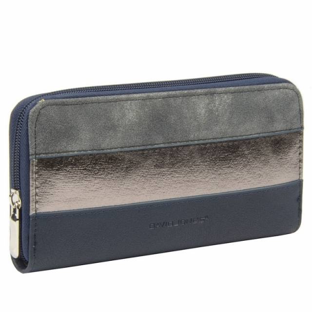 David Jones 053-510 P Dark Blue женский кошелек