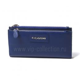 11853 D.BLUE Портмоне женск.COSSNI