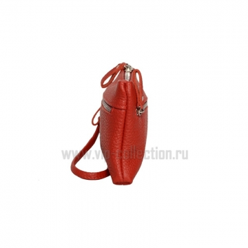 21501 красный Vip Collection кошелек-клатч