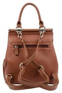 6131-2 BROWN Сумка-рюкзак David Jones