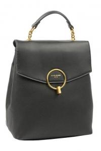 6160-2 BLACK Сумка-рюкзак David_Jones