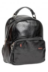 6237-4 BLACK Сумка-рюкзак David_Jones