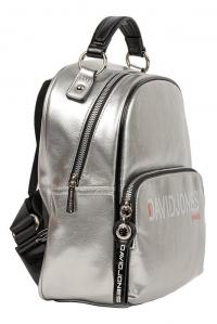 6237-4 SILVER Сумка-рюкзак David_Jones