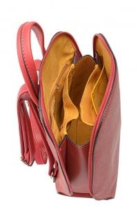 6248-1 RED Сумка-рюкзак David_Jones
