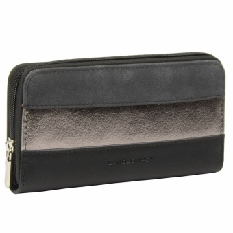 David Jones 053-510 P BLACK  женский кошелек
