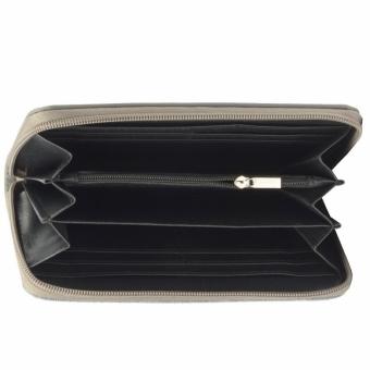 David Jones 053-510 P dark grey  женский кошелек