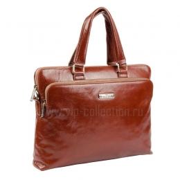 113415 COGNAC сумка портфель VIP COLLECTION