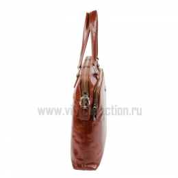 Сумка портфель VIP Collection 113415 cognac