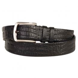 13712606 Black Croco ремень натуральная кожа