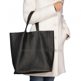 18002 Black сумка женская натуральная кожа