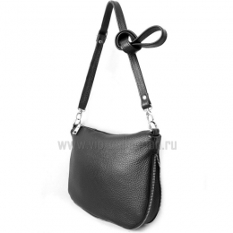 18062 Black сумка женская натуральная кожа