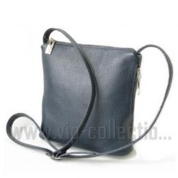 18503 BLUE Женская сумка натуральная кожа