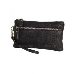 21501 черный Vip Collection кошелек-клатч