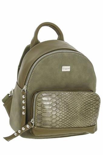 3552 СМ KHAKI Сумка рюкзак David Jones