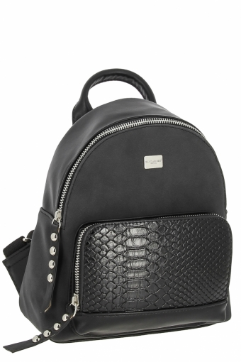 3552 СМ BLACK Сумка рюкзак David Jones