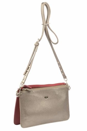 3573 CM BORDEAUX ANCIENT GOLDEN Женская сумка кросс-боди David Jones