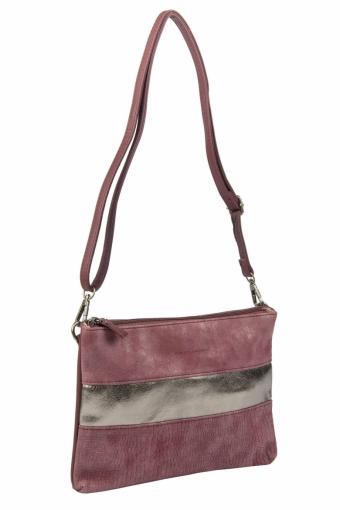 3577 CM BORDEAUX Женская сумка кросс-боди David Jones