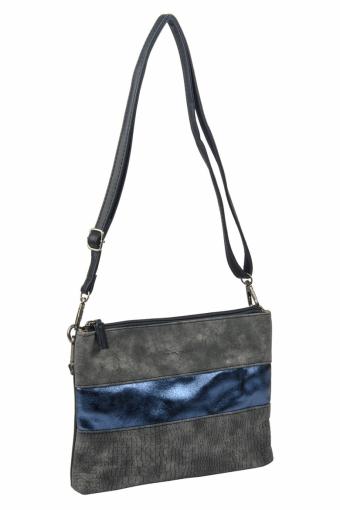 3577 CM D.BLUE Женская сумка кросс-боди David Jones