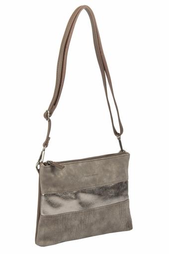 3577 CM D.BROWN Женская сумка кросс-боди David Jones