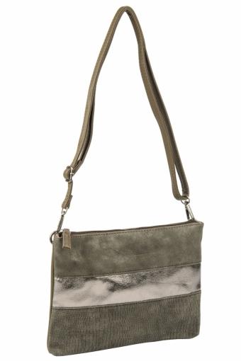3577 CM KHAKI Женская сумка кросс-боди David Jones