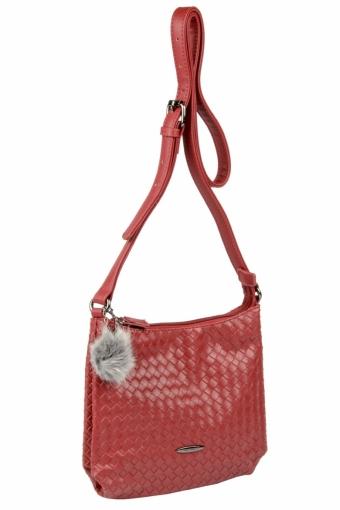 3597 CM BORDEAUX Женская сумка кросс-боди David Jones