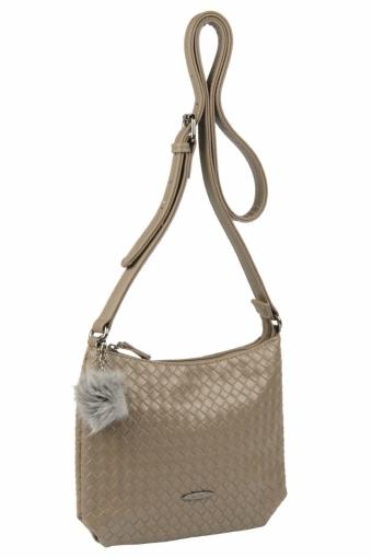 3597 CM D.TAUPE Женская сумка кросс-боди David Jones