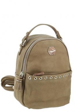 3921_CM_D_CAMEL Сумка-рюкзак, иск.кожа_ David_Jones