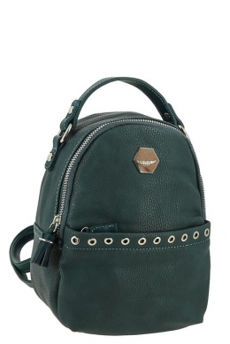 3921_CM_PEACOCK_BLUE  Сумка-рюкзак, иск.кожа_ David_Jones