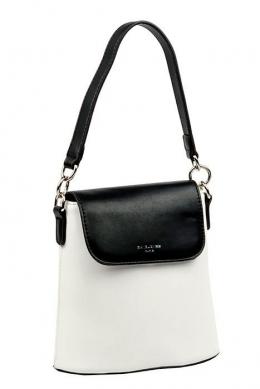 5021 CM BLACK/WHITE Женская_сумка кросс_боди David Jones