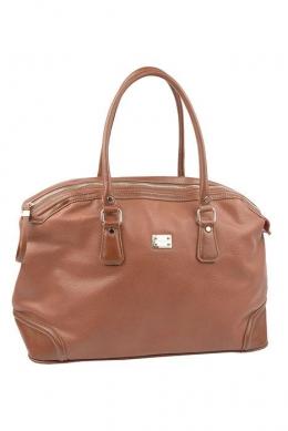 5309 CM BROWN Дорожная сумка David Jones