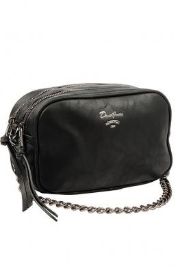 5374 CM BLACK Женская_сумка кросс_боди David Jones