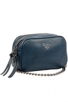 5374 CM D.BLUE Женская_сумка кросс_боди David Jones
