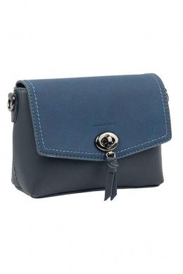 5387 CM D.BLUE Женская_сумка кросс_боди David Jones