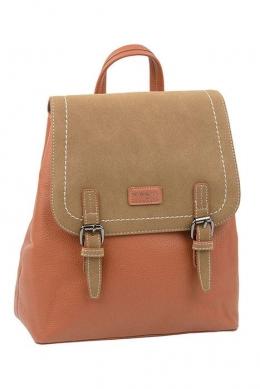 5408 CM COGNAC Сумка-рюкзак David_Jones