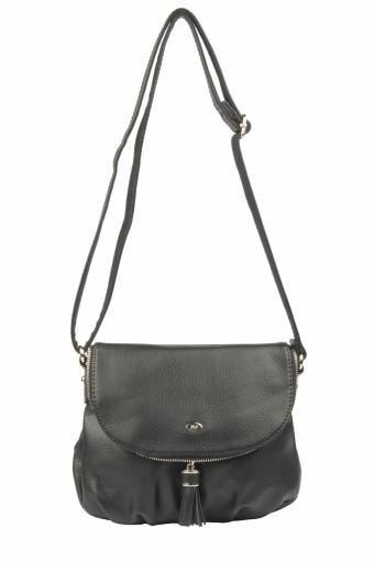 5540A-1 BLACK Женская сумка кросс-боди David Jones