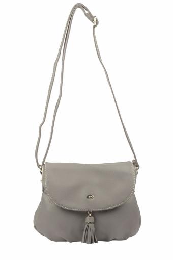 5540A-1 D.GREY Женская сумка кросс-боди David Jones
