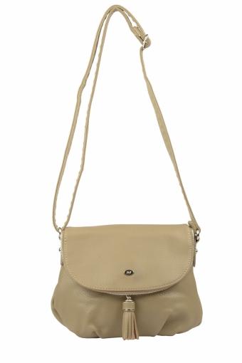 5540A-1 KHAKI Женская сумка кросс-боди David Jones