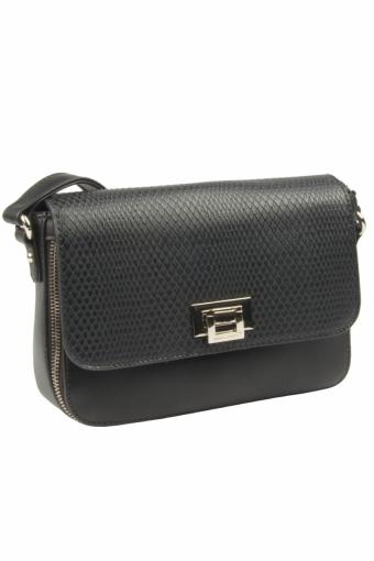 5623-2 BLACK Женская сумка кросс-боди David Jones
