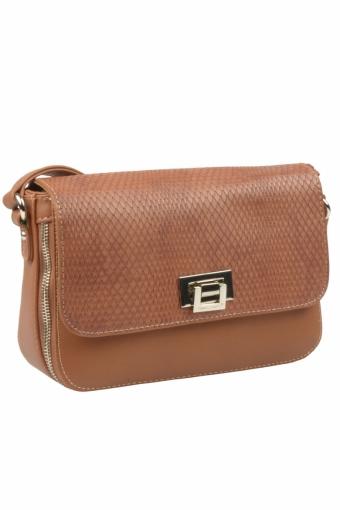 5623-2 BROWN Женская сумка кросс-боди David Jones