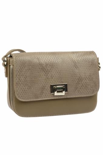 5623-2 D.KHAKI Женская сумка кросс-боди David Jones