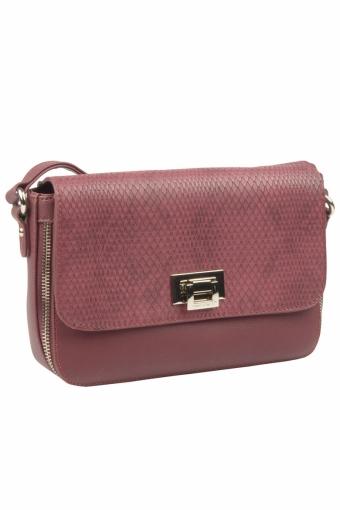 5623-2 PLUM Женская сумка кросс-боди David Jones
