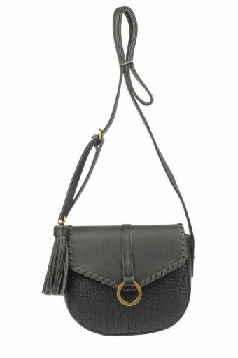 5630-2 BLACK Женская сумка кросс-боди David Jones