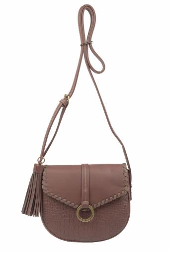 5630-2 D.BROWN Женская сумка кросс-боди David Jones