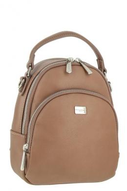 5814_2_D_PINK Сумка-рюкзак, иск.кожа_ David_Jones