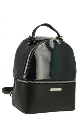 5847_1_BLACK Сумка-рюкзак, иск.кожа_ David_Jones