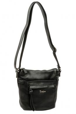 5944-1 BLACK Женская_сумка кросс_боди David Jones