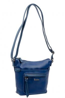 5944-1 BLUE Женская_сумка кросс_боди David Jones