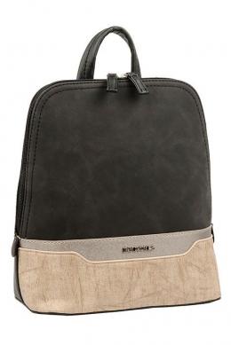 5948-2 BLACK Сумка-рюкзак David Jones