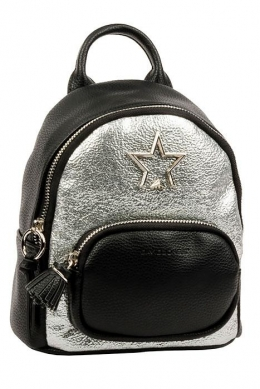 5955-2 BLACK Сумка-рюкзак David Jones